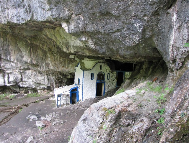 The chapel of Saint Dionysios in rock.