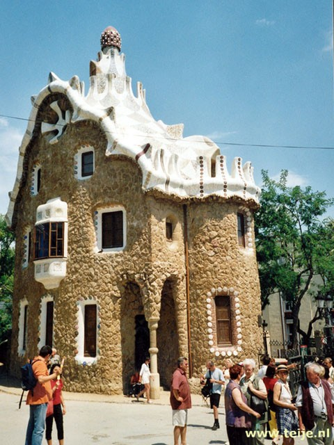 House of Antony Gaudi  in Barcelona