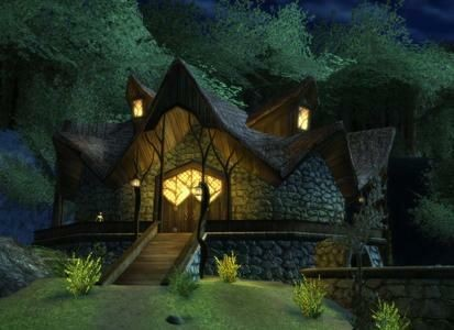 House of Tom Bombadil in The Lord of the Rings