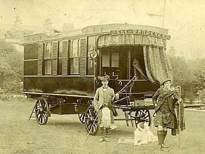 Old gipsy wagon in UK.