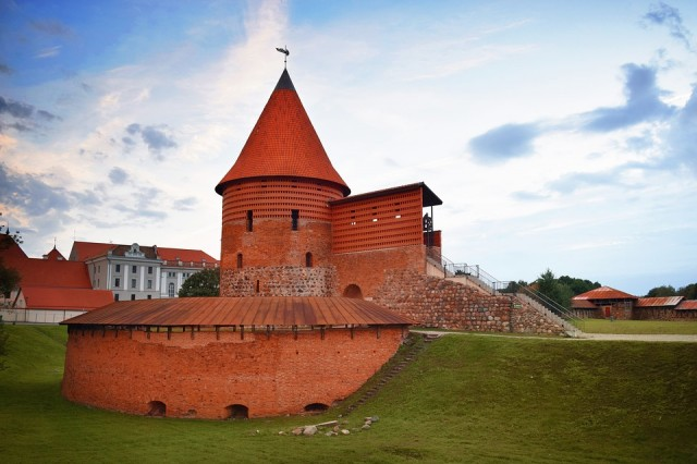 Kaunas Castle is the oldest stone castle in Lithuania