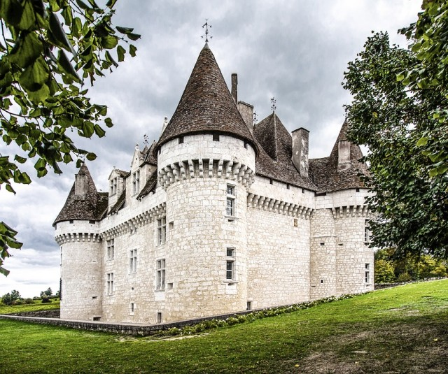 Castle Monbazillac in France