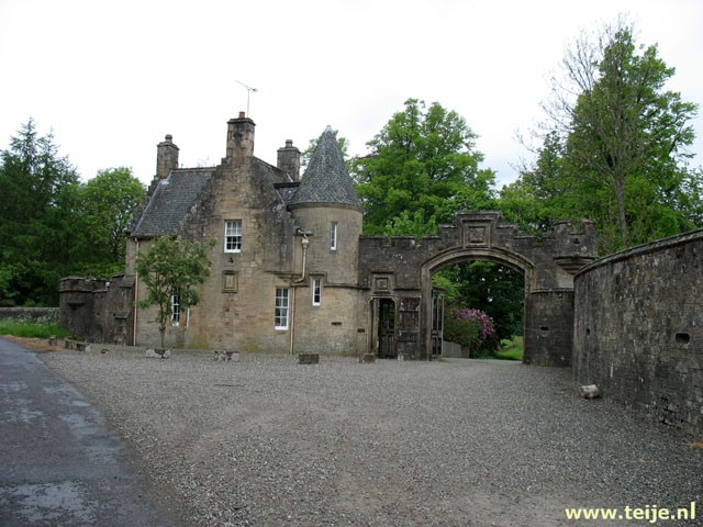 Gatelodge at Deanston in Scotland