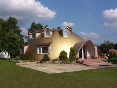 Eco Dome house in Poland