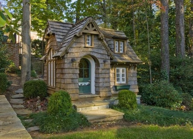 Beautiful cottage in the wood