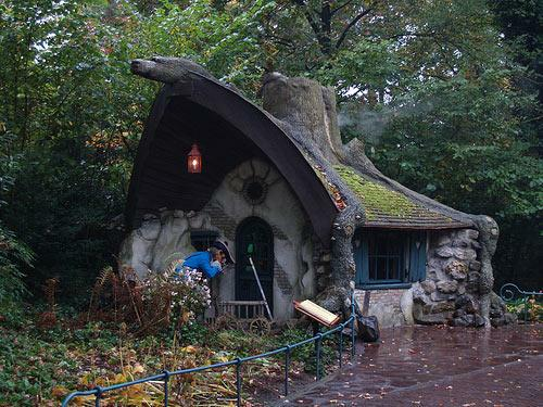Fantasy house in the Efteling