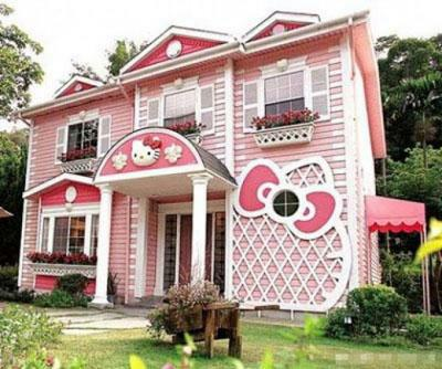 Hello Kitty Huis  in Taiwan