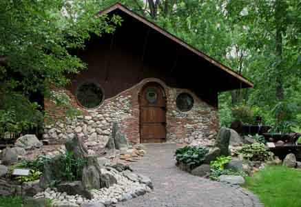 Hobbit House at Jurustic Park in Marshfield