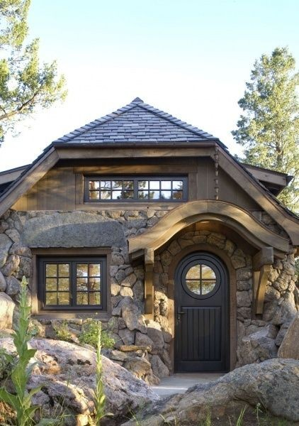 Huis in hobbit stijl in Colorado