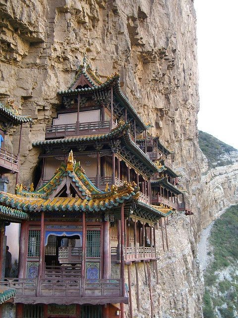 Hangende tempel in China