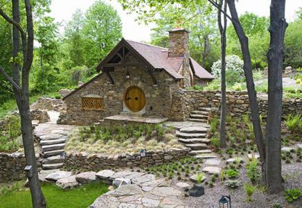 Hobbit huisje in Pennsylvanie