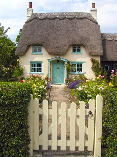 Rose Cottage in Honington, Engeland