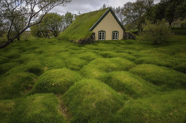 Icelandic roofs of grass have an enormous cultural and historical importance.