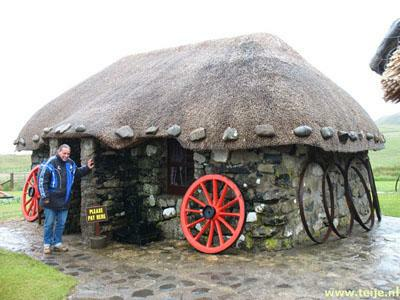 Kilmuir on Skye in Scotland, The Old Barn, Skye Museum of Island Life.