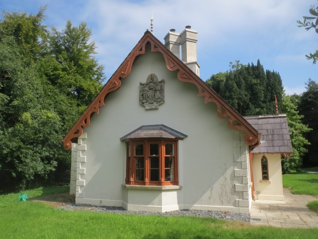 Downpatrick gate lodge in Belmont, Northern-Ireland.