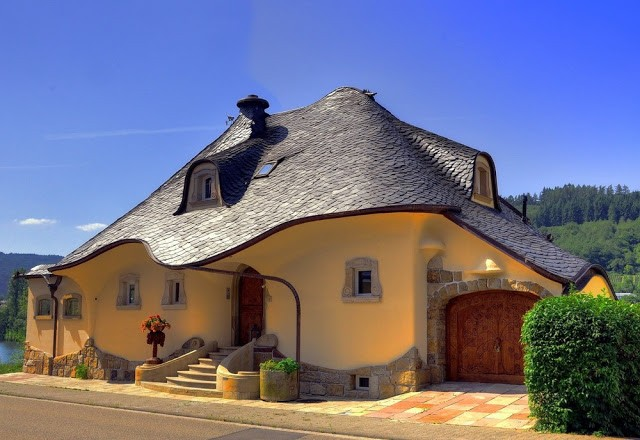 Organic house in Zell, Germany