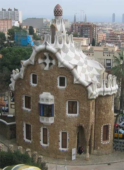 Mind House of Gaudi in Barcelona