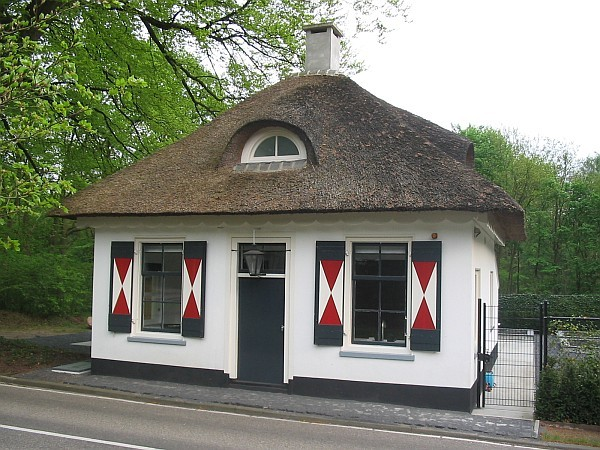 Tollhouse in Huizen, the netherlands