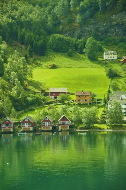 Houses in Norway