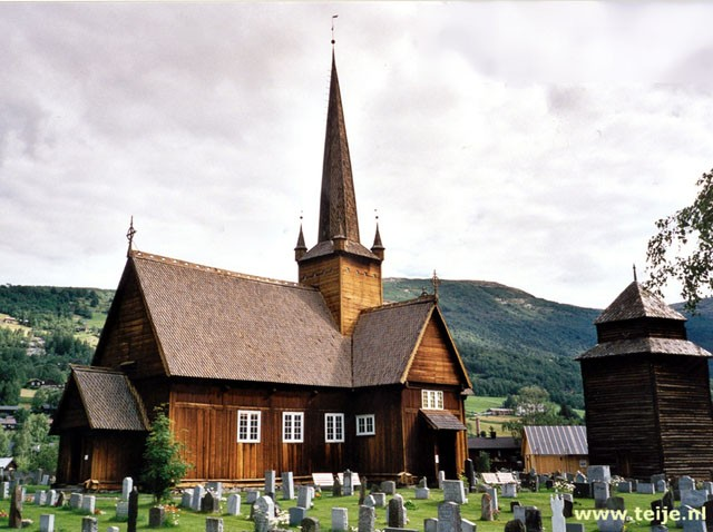 Stave church at Vågåmo
