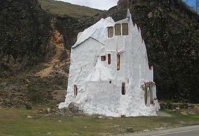 House in rock