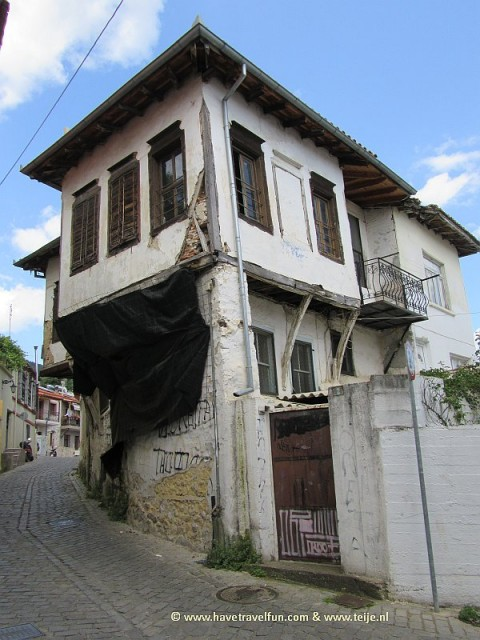 Old house in Xanthia in Greece