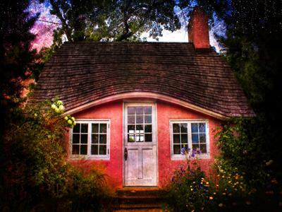 Cute red cottage