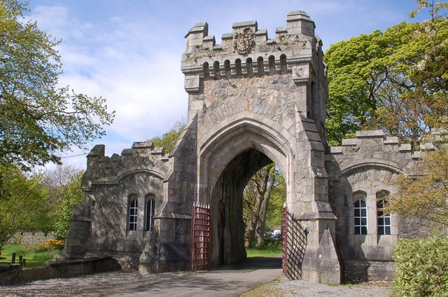Gate Lodge of Lews Castle in Stornoway