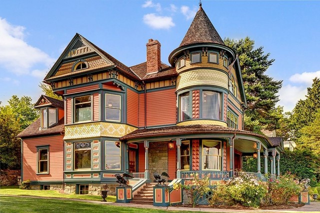 Victoriaans huis Queen Anne in Seattle