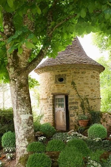 Restored farmhouse in France