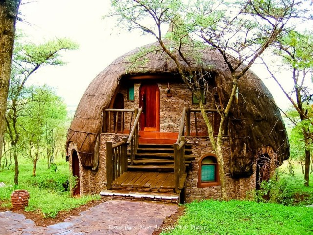 Dome Rondavel in Africa