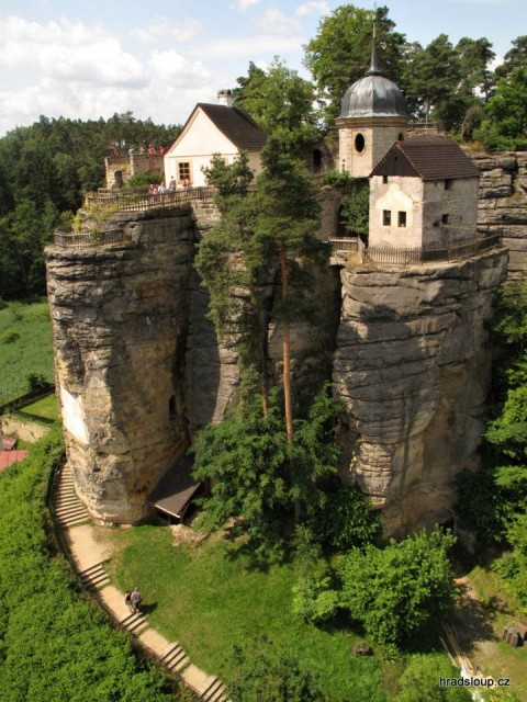 Sloup is a medieval castle in Czech.