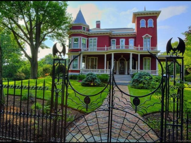 Stephen King´s house in Bangor, Maine