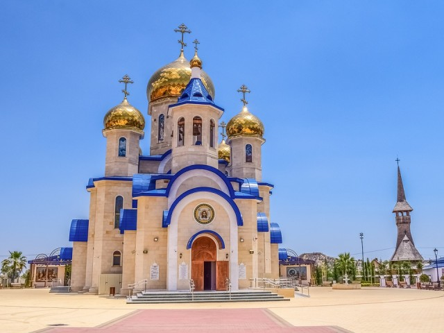 Tamassos Bishop church in Russia