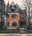 Victorian brick Home in Columbus