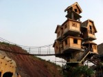 Boomhut in Chongqing, China