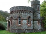 Gatehouse of the Skipness castle  located on the Kintyre peninsula