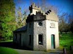 Gate lodge of the Avondale House in Wicklow, Ireland