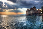 Castle Chillon in Switserland