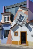 House on the head in Chamusca, Portugal