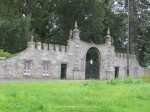 Gatelodge of Clamis castle  in Scotland