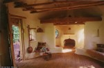 Cob house  inside 2