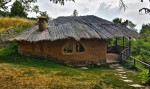 Clay house in the village Leshten,Bulgaria