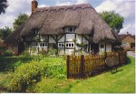 17th century thatched cottage in Ecchinswell