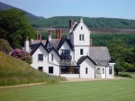 Dougarie Estate on the isle Arran in Scotland