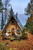 Tiny romantic cottage in Canada