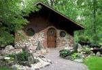 Hobbit huisje in Jurustic Park in Marshfield