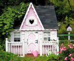 Pink fantasy house