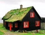 Grassy house in the Faroe Islands!