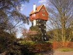 Unusual British home built to disguise a water tower.